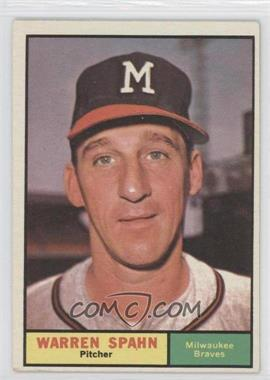 1961 Topps - [Base] #200 - Warren Spahn