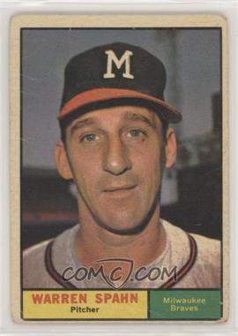 1961 Topps - [Base] #200 - Warren Spahn [NonePoortoFair]