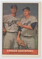 Dodger Southpaws (Sandy Koufax, Johnny Podres)