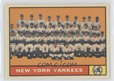 1961 Topps - [Base] #228 - New York Yankees Team
