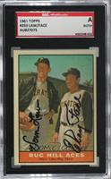 Buc Hill Aces (Vern Law, Roy Face) [SGC Authentic Authentic]