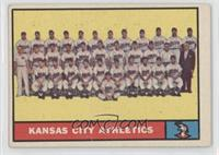 Kansas City Athletics Team