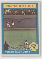 World Series Game #1 (Virdon Saves Game)