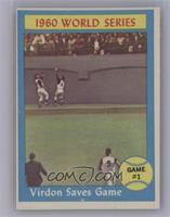 World Series Game #1 (Virdon Saves Game) [VeryGood‑Excellent]