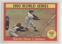 1960 World Series Game #2 (Mantle Slams 2 Homers) [Good to VG‑E…