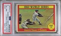 1960 World Series Game #2 - Mantle Slams 2 Homers [PSA8]
