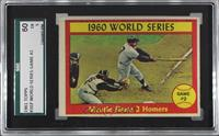 1960 World Series Game #2 - Mantle Slams 2 Homers [SGC 60 EX 5]