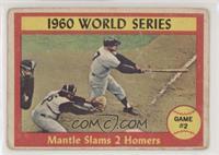 1960 World Series Game #2 - Mantle Slams 2 Homers [Poor]