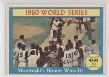 1961 Topps - [Base] #312 - Bill Mazeroski
