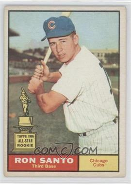 1961 Topps - [Base] #35 - Ron Santo [Good to VG‑EX]