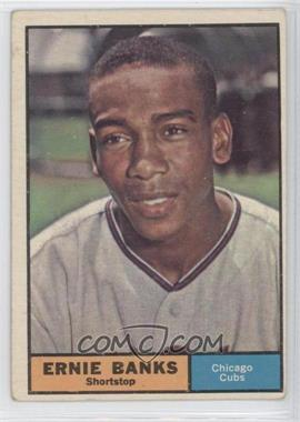 1961 Topps - [Base] #350 - Ernie Banks