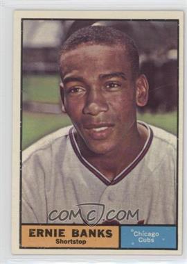 1961 Topps - [Base] #350 - Ernie Banks