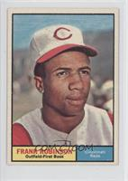 Frank Robinson [Noted]