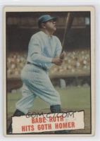 Baseball Thrills: Babe Ruth Hits 60th Homer [GoodtoVG‑EX]