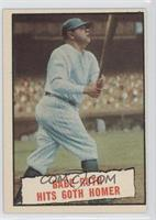 Baseball Thrills: Babe Ruth Hits 60th Homer