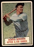 Baseball Thrills: Gehrig Benched After 2,130 Games (Lou Gehrig) [FAIR]