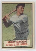 Baseball Thrills: Gehrig Benched After 2,130 Games (Lou Gehrig) [Goodto&n…