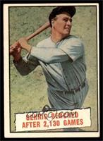 Baseball Thrills: Gehrig Benched After 2,130 Games (Lou Gehrig) [VGEX]