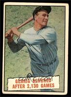 Baseball Thrills: Gehrig Benched After 2,130 Games (Lou Gehrig) [VG]