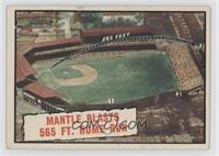 Baseball Thrills: Mantle Blasts 565 Ft. Home Run (Mickey Mantle) [Good to&…