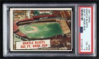 Baseball Thrills: Mantle Blasts 565 Ft. Home Run (Mickey Mantle) [PSA4&nb…