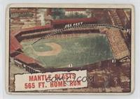 Baseball Thrills: Mantle Blasts 565 Ft. Home Run (Mickey Mantle) [Poor to&…