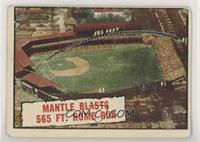 Baseball Thrills: Mantle Blasts 565 Ft. Home Run (Mickey Mantle) [NonePoo…