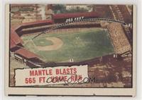 Baseball Thrills: Mantle Blasts 565 Ft. Home Run (Mickey Mantle)