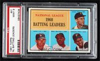 Dick Groat, Norm Larker, Willie Mays, Roberto Clemente [PSA 9 MINT]