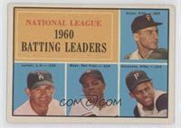 Dick Groat, Norm Larker, Willie Mays, Roberto Clemente