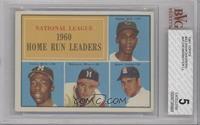 N.L. Home Run Leaders (Ernie Banks, Hank Aaron, Eddie Mathews, Ken Boyer) [BVG&…