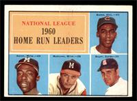 N.L. Home Run Leaders (Ernie Banks, Hank Aaron, Eddie Mathews, Ken Boyer) [VG&n…