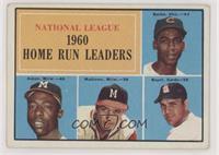 N.L. Home Run Leaders (Ernie Banks, Hank Aaron, Eddie Mathews, Ken Boyer)