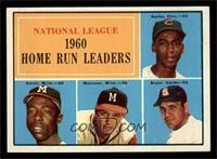 N.L. Home Run Leaders (Ernie Banks, Hank Aaron, Eddie Mathews, Ken Boyer) [NM]