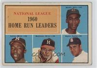 N.L. Home Run Leaders (Ernie Banks, Hank Aaron, Eddie Mathews, Ken Boyer) [Good…