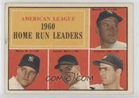 American League Home Run Leaders (Mickey Mantle, Roger Maris, Jim Lemon, Rocky …