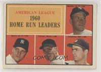 Mickey Mantle, Roger Maris, Jim Lemon, Rocky Colavito