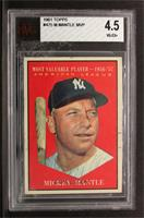 American League Most Valuable Player (Mickey Mantle) [BVG 4.5]