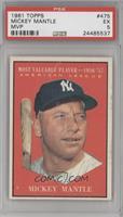 American League Most Valuable Player (Mickey Mantle) [PSA 5]