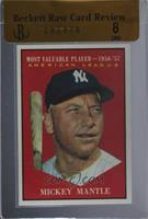 American League Most Valuable Player (Mickey Mantle) [BRCR 8]