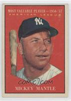 American League Most Valuable Player (Mickey Mantle) [GoodtoVG&#820…