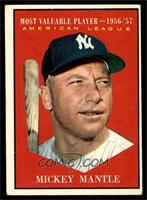 American League Most Valuable Player (Mickey Mantle) [VG EX]