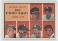 1960 American League Pitching Leaders (Chuck Estrada, Jim Perry, Bud Daley, Art…