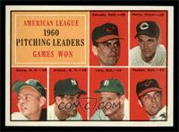 1960 American League Pitching Leaders (Chuck Estrada, Jim Perry, Bud Daley, Art…
