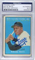 Willie Mays [PSA/DNA Certified Auto]