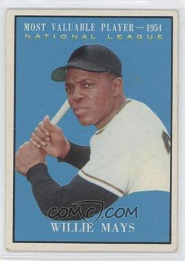 1961 Topps - [Base] #482 - Willie Mays