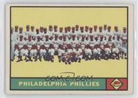 Philadelphia Phillies Team [Noted]