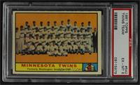 High # - Minnesota Twins Team [PSA 6 EX‑MT]