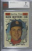 Ken Boyer [BVG 7 NEAR MINT]