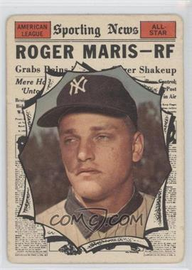 1961 Topps - [Base] #576 - Roger Maris [Good to VG‑EX]